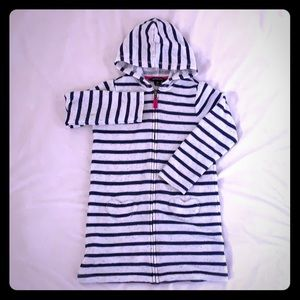 Lands' End Hooded Swim Suit Coverup